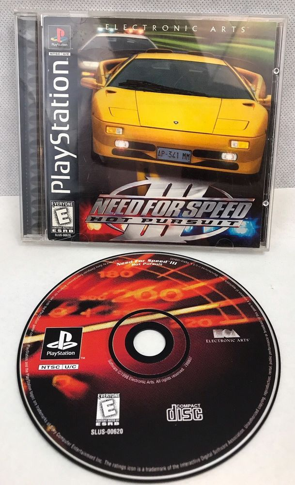 Sony Playstation Game Need For Speed Iii Hot Pursuit Video Games