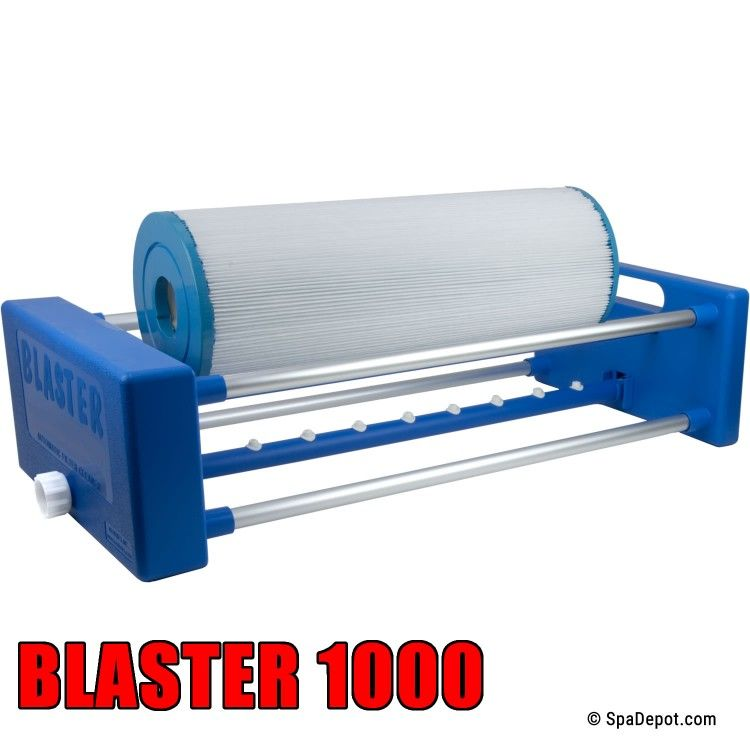 Blaster 1000 automatic filter cleaner 20 hot tub swim