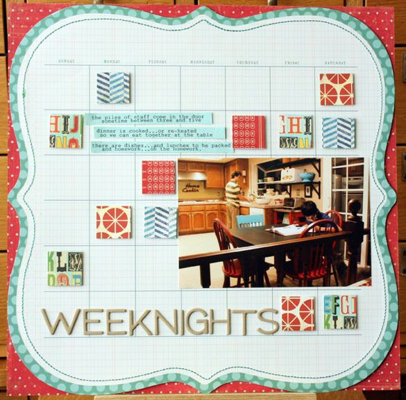 Weeknights by Nora Griffin at @Studio_Calico