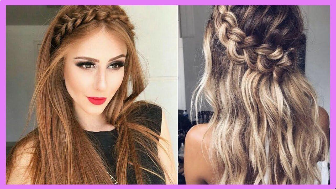 Peinados Faciles Rapidos Y Bonitos 2018 Long Hair Styles Hair Styles Hair