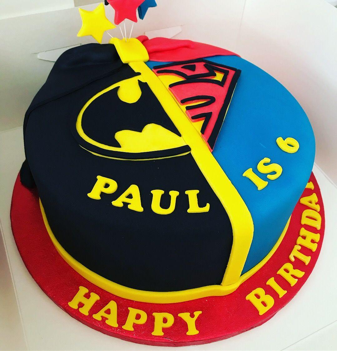 Batman v superman cake Superman cakes, Cake decorating