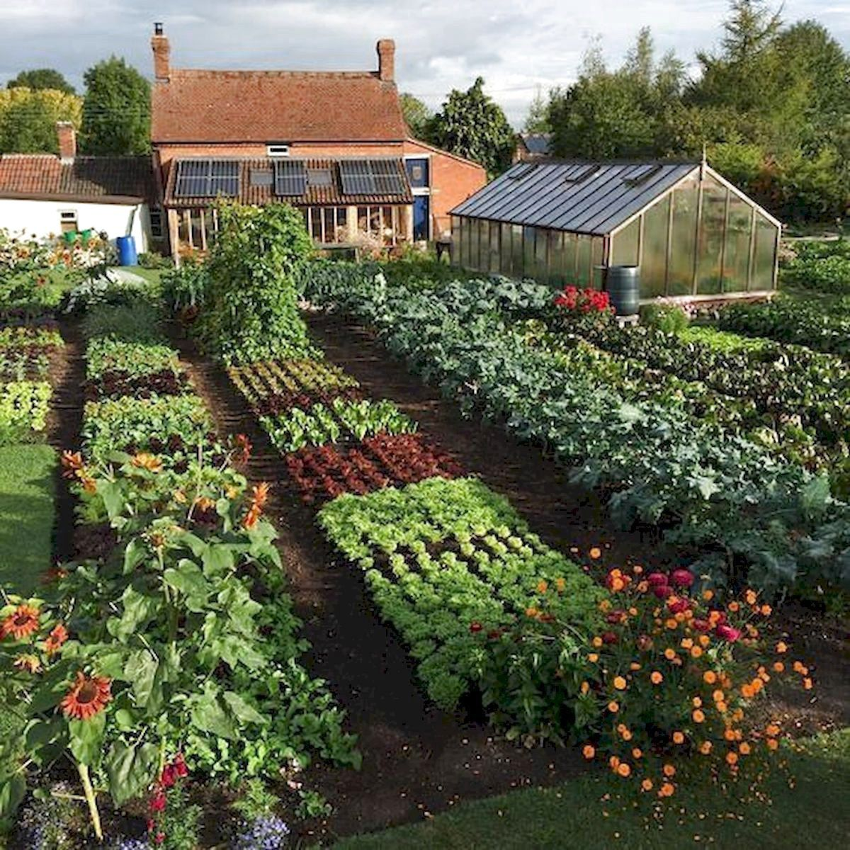56 very beautiful backyard vegetable garden designs ideas on beautiful backyard garden design ideas and remodel create your extraordinary garden id=35368