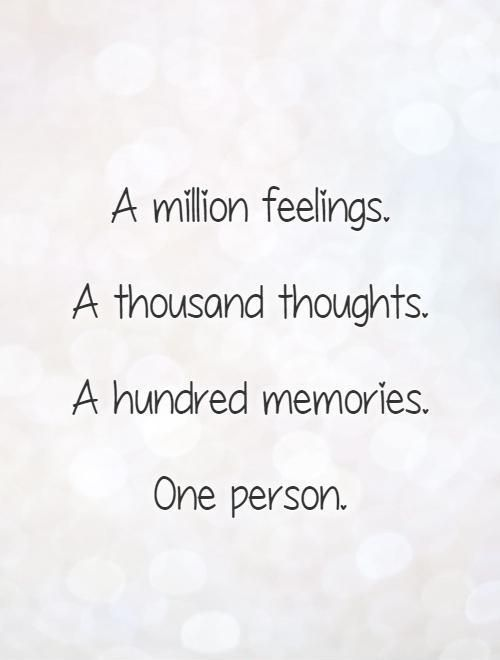 Thoughts and Memories