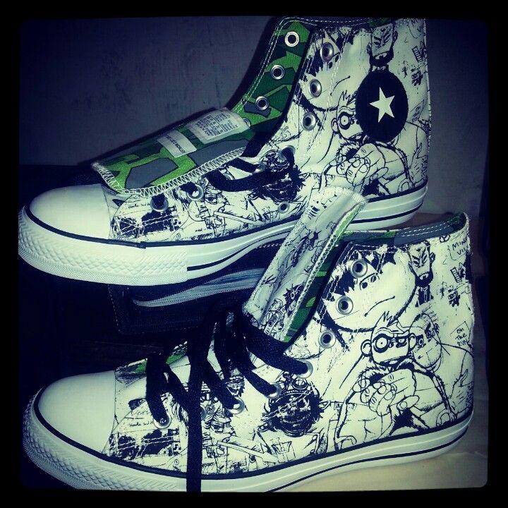 0aee92cf244e Gorillaz Shoes.