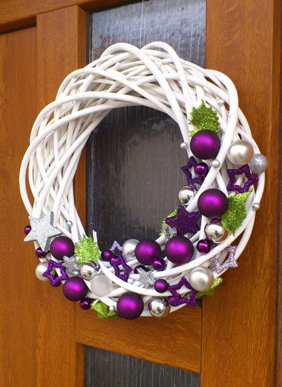 Autumn Wicker Wreath - Google-Suche - Young Lady Fashion #adventkransen