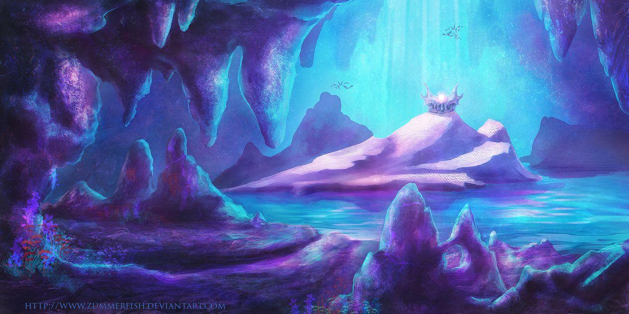 Cavern Slime Fantasy Concept Art