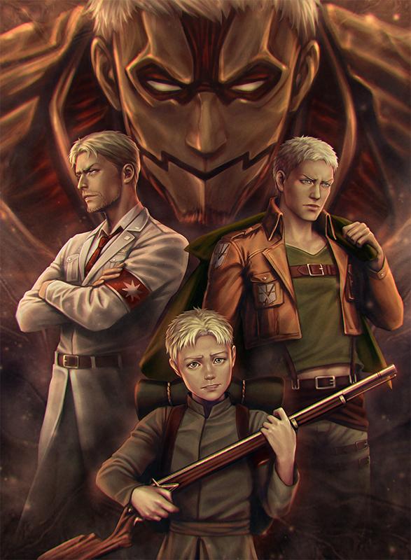 "Anime Attack on Titan manga Wall Scroll Poster cosplay8/""x11/"" A"