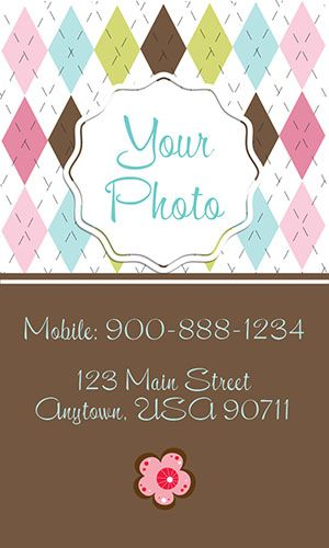 Nanny business card template from printifycards business nanny business card template from printifycards cheaphphosting Images