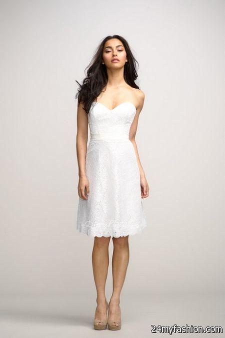 Cool Plain white dresses 2018-2019 Check more at http://24myfashion ...