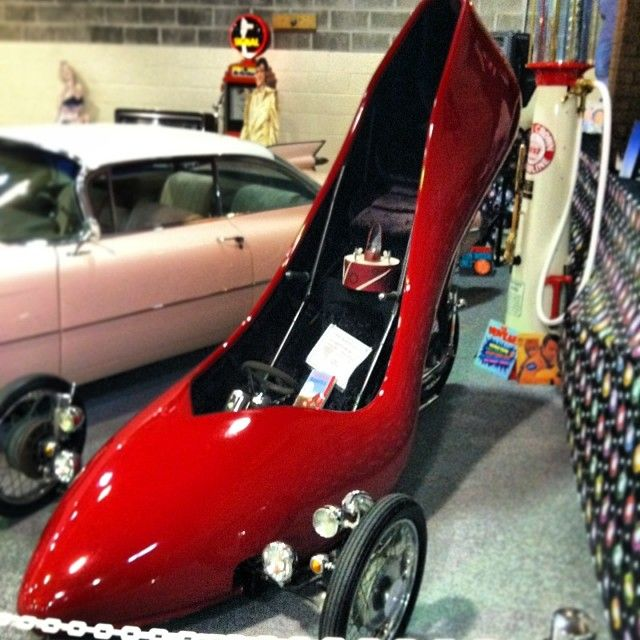 Alice's Ruby Red slipper car