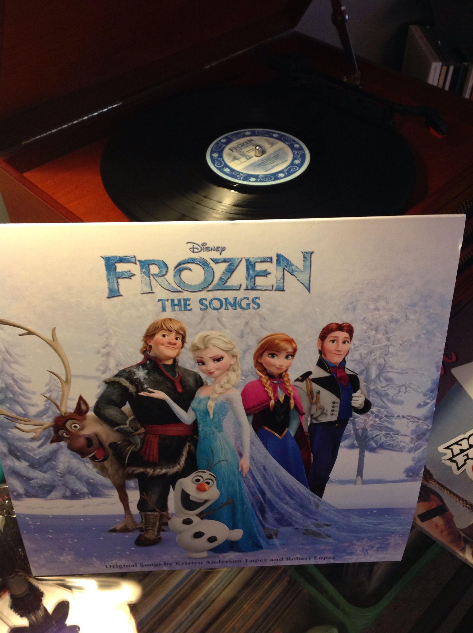 Frozen Disney frozen, Vinyl, Songs
