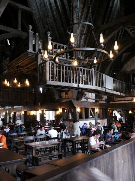The 3 Broomsticks Tavern at Harry Potter World Universal Adventures Orlando.