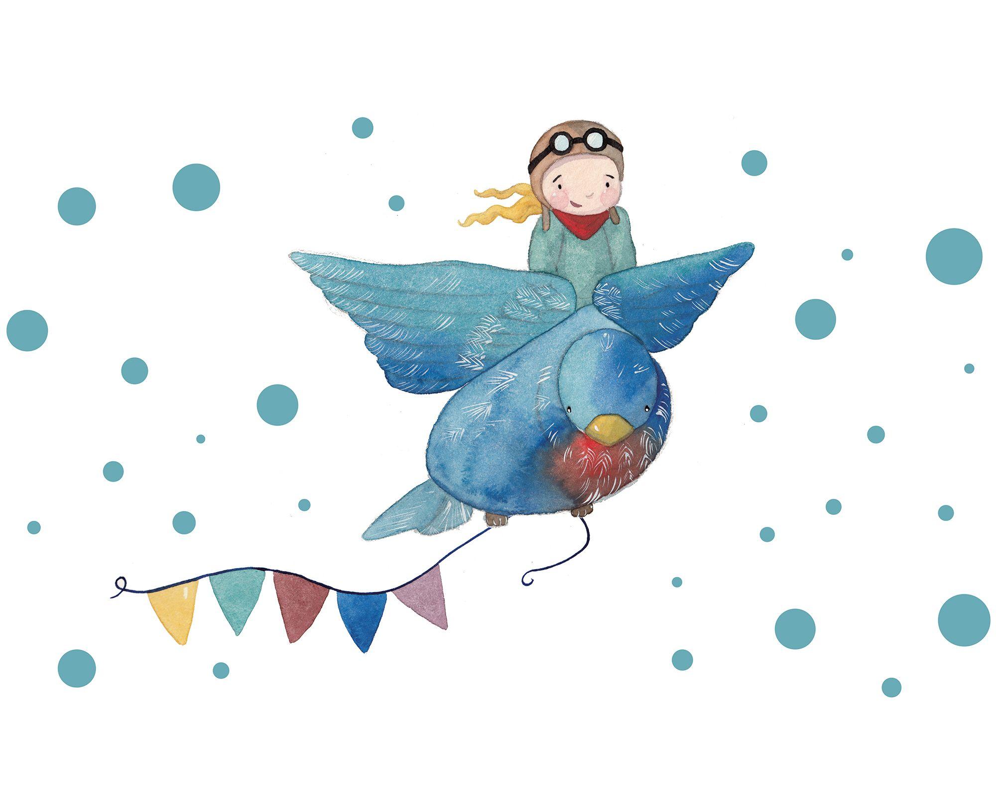 Stickerset Himmelsstürmer für die Deko im Kinderzimmer