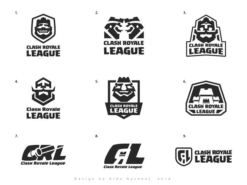 Clash Royale League Aproved Logo And Proposals Logo Inspiration Clash Royale Learning Logo