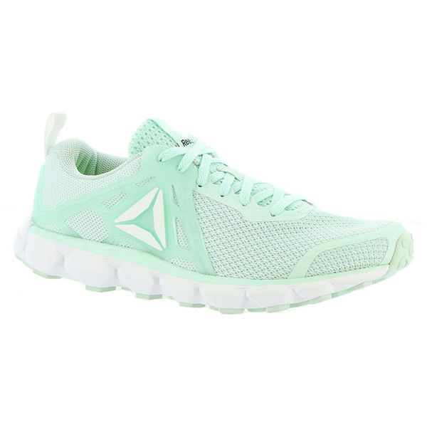 Reebok Hexaffect Run 5.0 MTM Women s Green Running 8.5 M ( 70) ❤ liked on  Polyvore featuring shoes f5f573c47
