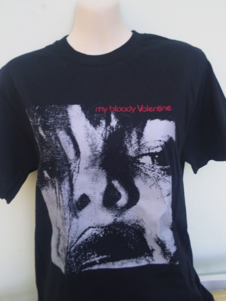 MY BLOODY VALENTINE FEED ME WITH YOUR KISS SHIRT Slowdive Jesus And Mary  Chain