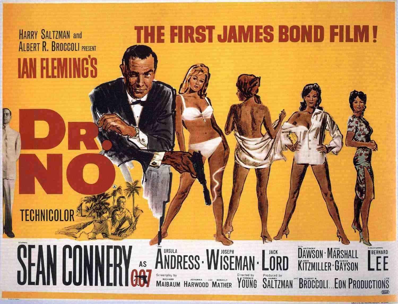 Dr. No,  James Bond - first film 1962