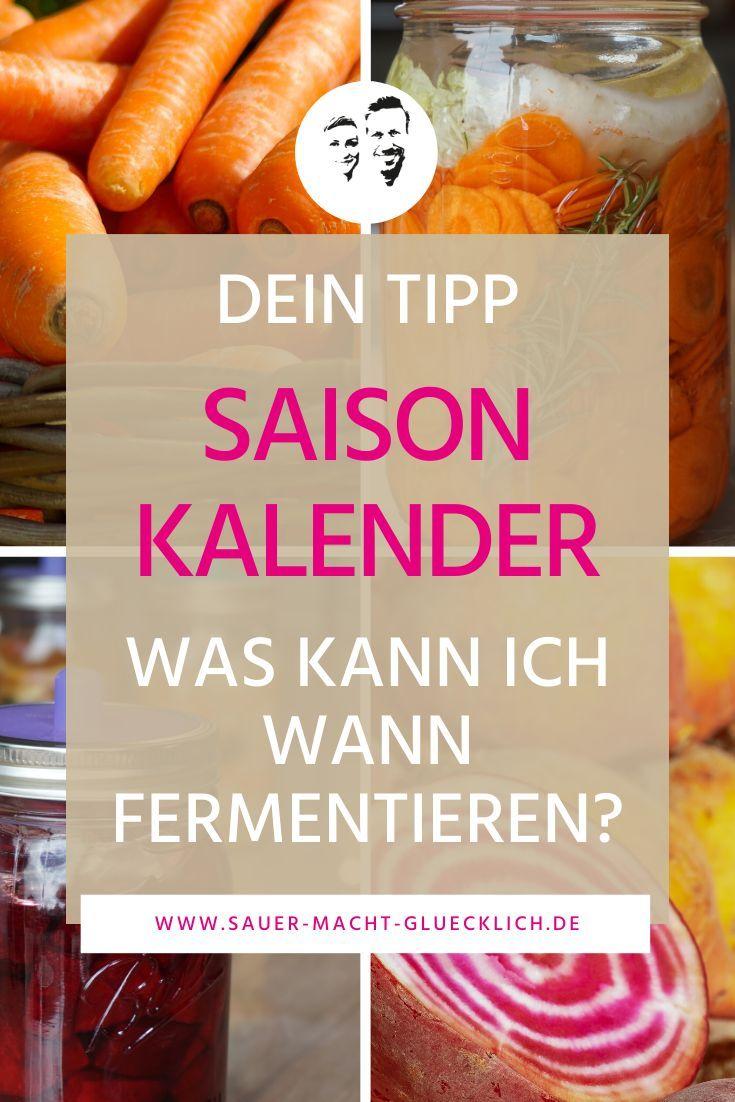 Du möchtest wissen, was du wann fermentieren kannst?