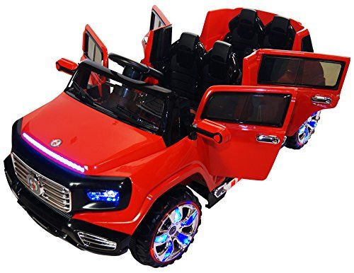Twoseater 4door Premium Ride On Electric Toy Car For Kids 12v Battery Powered Led Lights Mp3 Rc Parental Remote Toy Cars For Kids Toy Car Little Girl Toys