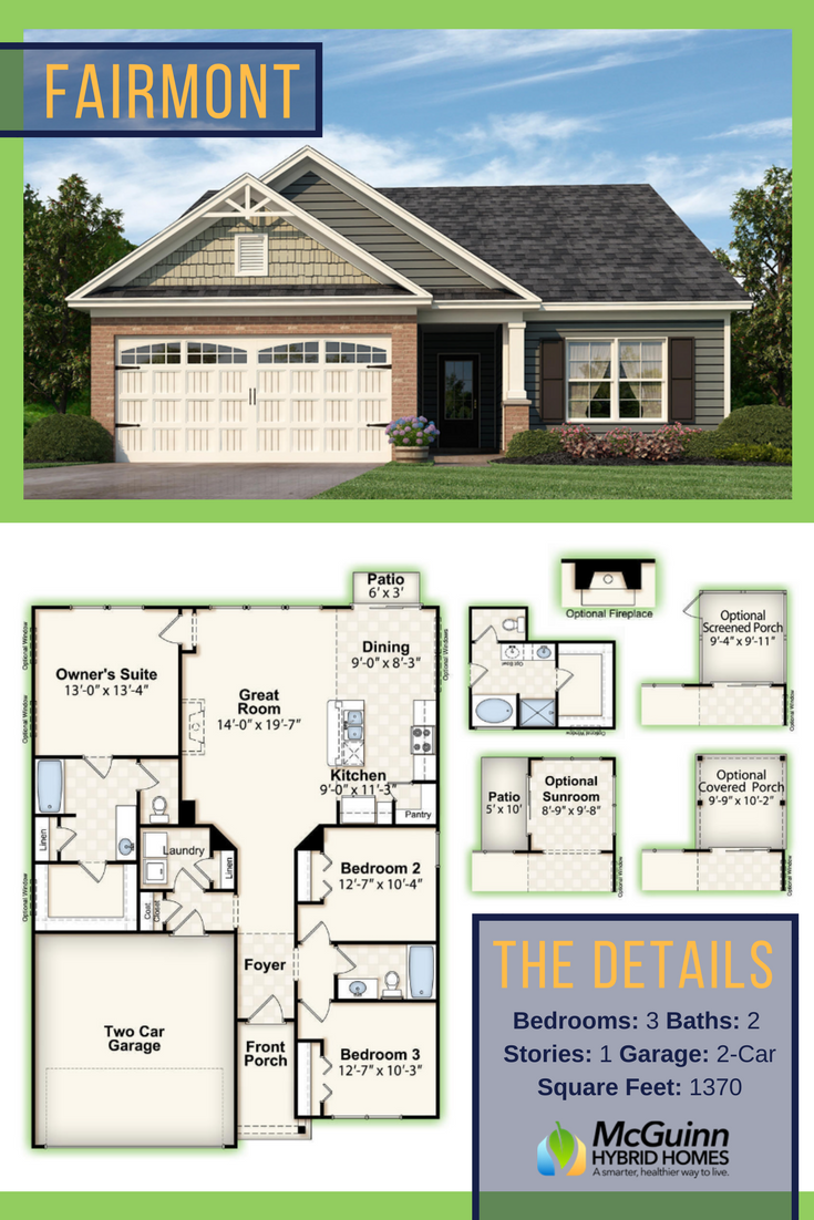 Trying To Find Your Ideal Floor Plan In South Carolina Discover This Wonderful 3 Bedroom Basement House Plans Building Plans House Small Craftsman House Plans
