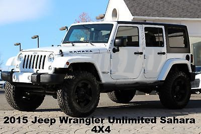 Ebay 2015 Jeep Wrangler Unlimited Sahara 4x4 2015 Customized