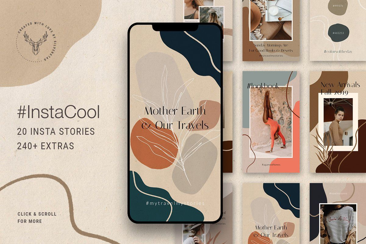 Ad: Ultimate Instagram Bundle + Updates by SilverStag on @creativemarket. Purchase today and you will get all my future Instagram posts and stories for FREE!!! --- After releasing 30 different Instagram post & #creativemarket