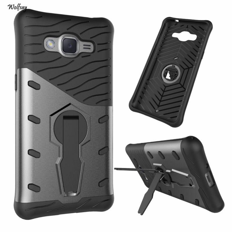 For Samsung Galaxy J2 Prime Case Silicone Rubber 360 Degree Rotation Case For Samsung Galaxy J2 Prime Cover For Samsung J2 Samsung Galaxy Hard Phone Cases Case