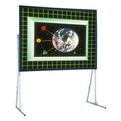 Cineflex Ultimate Folding Portable Screen   7u0027 X 7u0027 Square Format By Draper  Inc