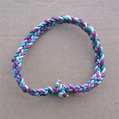 Diy Elastic Cord Bracelets Or Keychain Friendship Bracelet