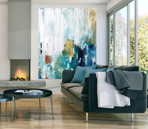 Large Abstract Painting Original Paintings Uk Modern Landscape