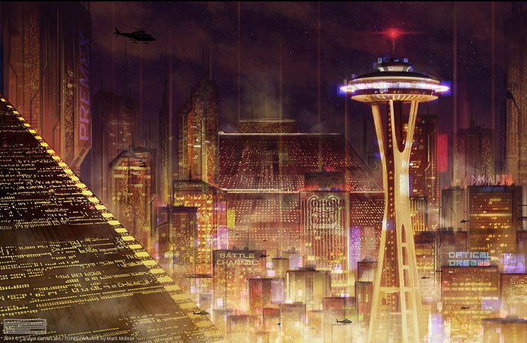 Image result for seattle cyberpunk