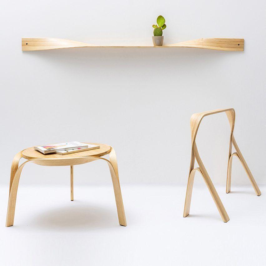 Bar gantz uses steam bending to create twisted wood furniture bar gantz uses steam bending to create twisted wood furniture watchthetrailerfo