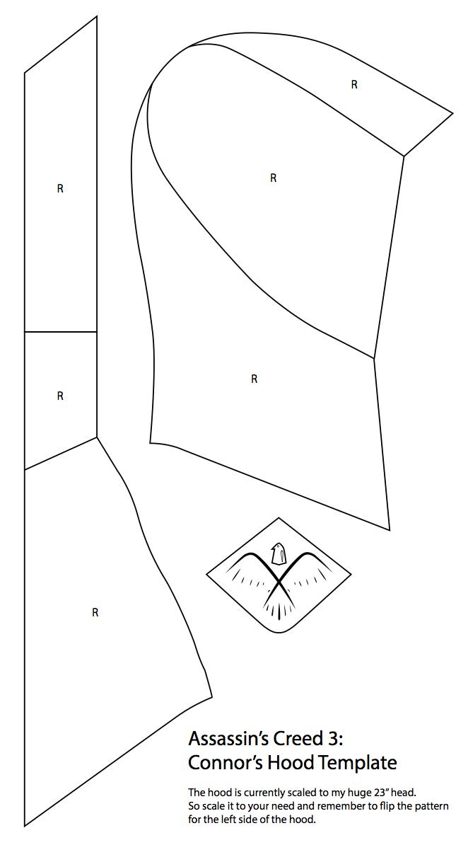 Resultado de imagen para eagle jacket assassin\'s creed pattern ...