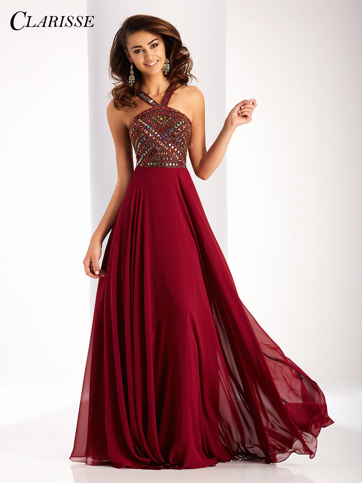 Pin by Clarisse Designs on Chiffon + Flowy Prom Dresses in 2019 ... 37f2d1723752