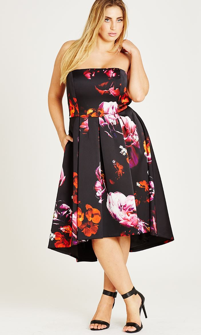 Floral print wedding guest dress  Casual u Formal Plus Size Dresses for Women  fullbeauty  I am your