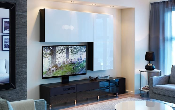 Mobile Tv Con Frontali Cassetto House Loft Pinterest Living