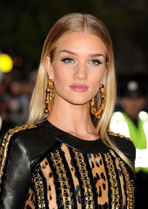 Rosie Huntington Whiteley Hair Ombre