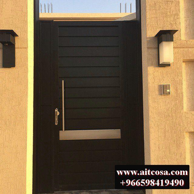 ابواب حديد خارجية 96659841490 Gray House Exterior Iron Doors Grey Houses
