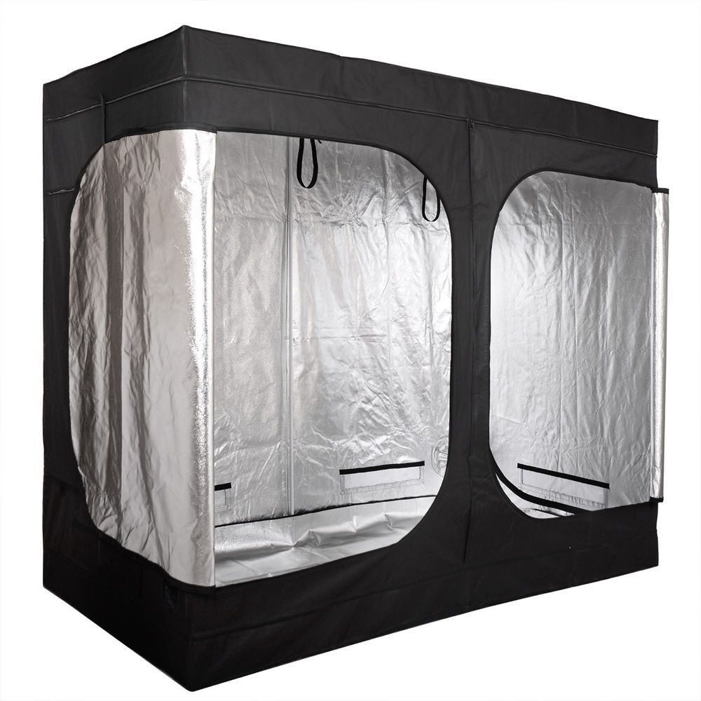 Grow Tent Room 96 x48 x78  2 Door Mylar Hydroponic for Indoor Plant  sc 1 st  Pinterest & Grow Tent Room 96