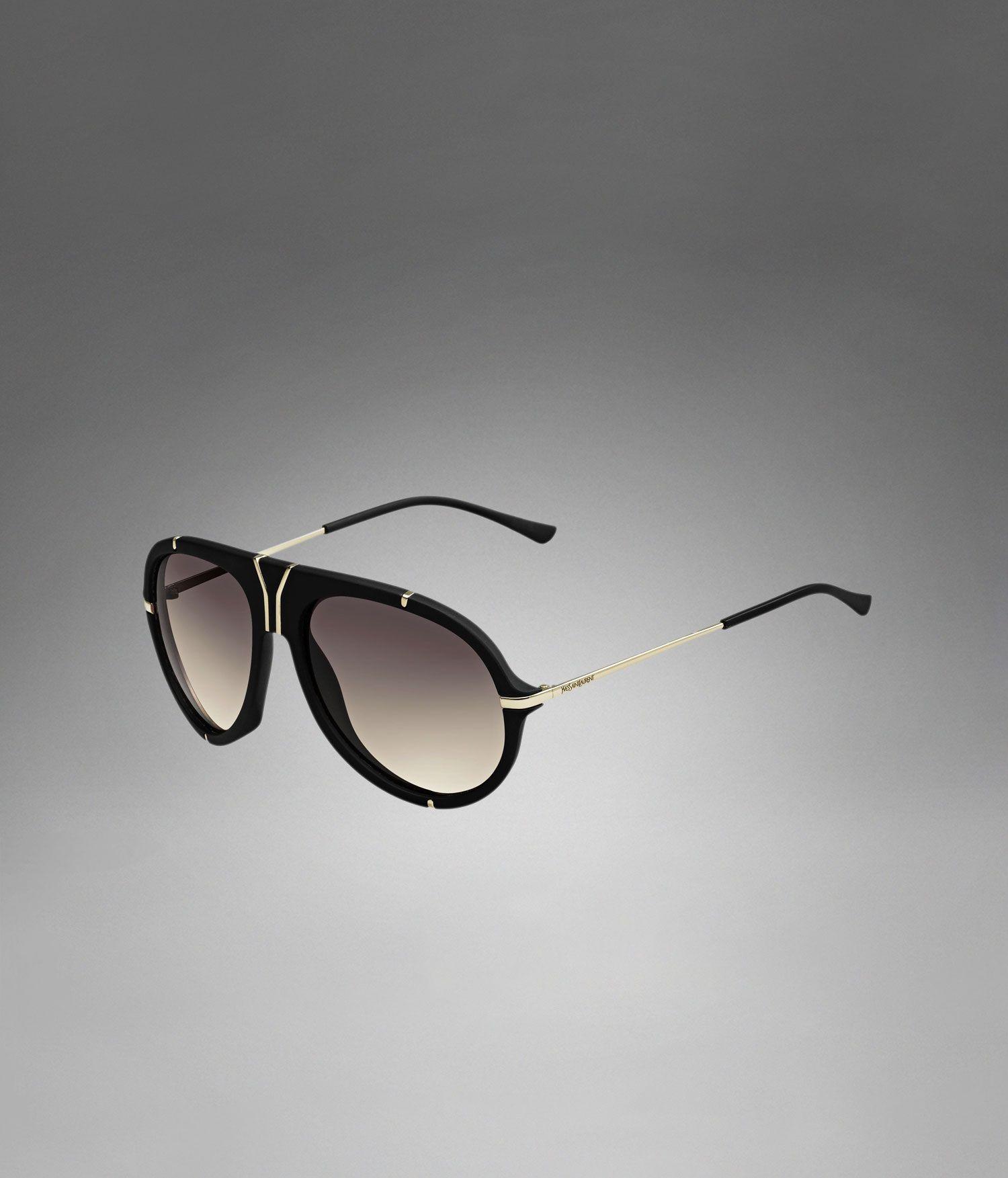 fb7d8b53c39 YSL pilot vintage sunglasses - Sunglasses – Men – Yves Saint Laurent ...