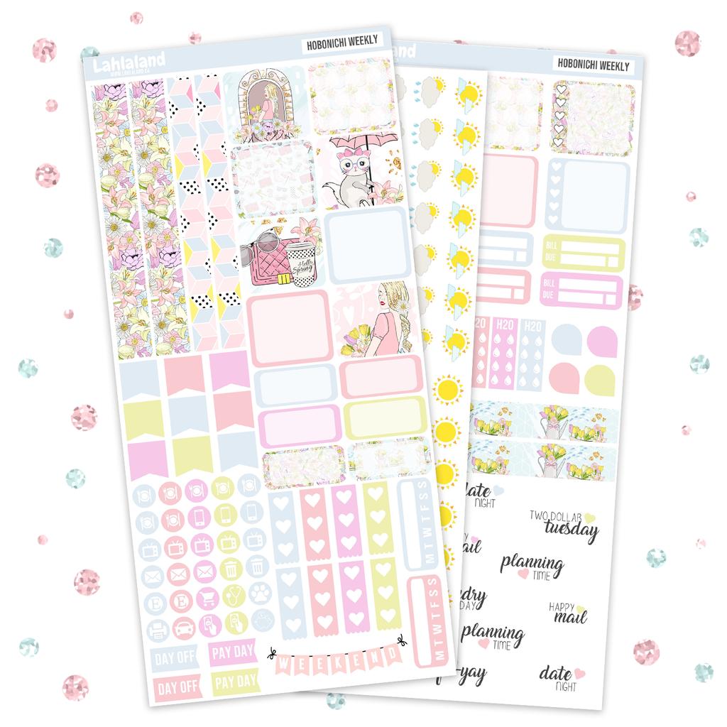 Epingle Sur Printable Hobonichi Weeks Stickers