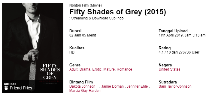 film fifty shades of grey 2015 full movie subtitle indonesia