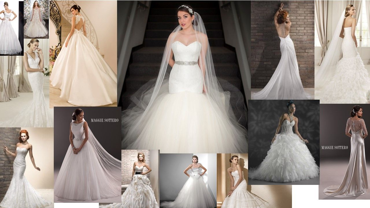 A Line Tulle Simple Wedding Dresses With Beading Off The: Bridal, Wedding Gowns, Fashion, Wedding Dress, White, Lace