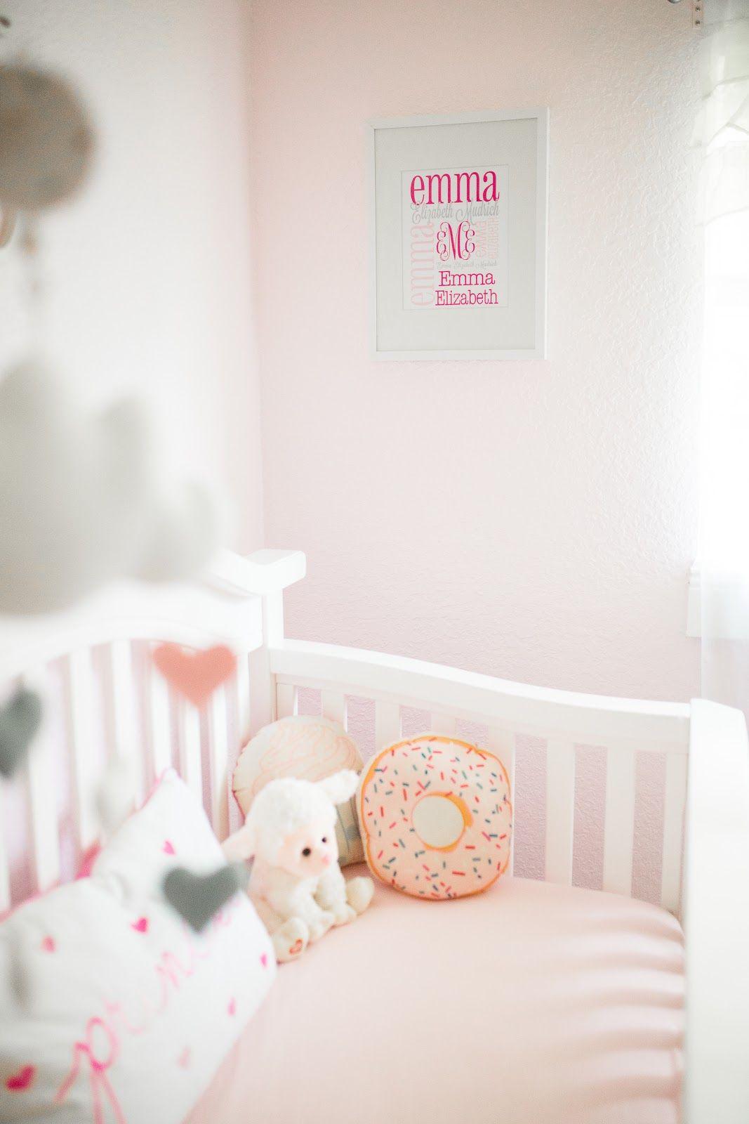 Laura \u0026 Co.: Emma\u0027s Nursery Reveal baby nursery, baby room, baby ...