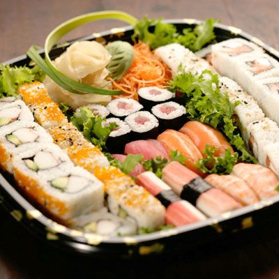If You Brought Sushi Maki They Wouldn T Be Mad Catering Food Sushi