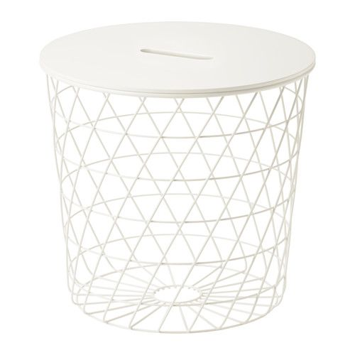Kvistbro Storage Table White 17 3 8 Ikea Table Storage Side Table White Storage