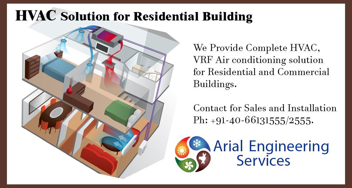 Complete Airconditioning solution for your Residential