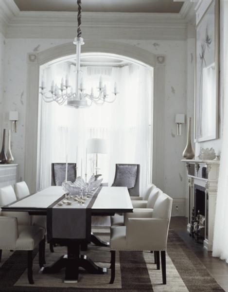 dining rooms - lucite acrylic modern chandelier black dining table ...
