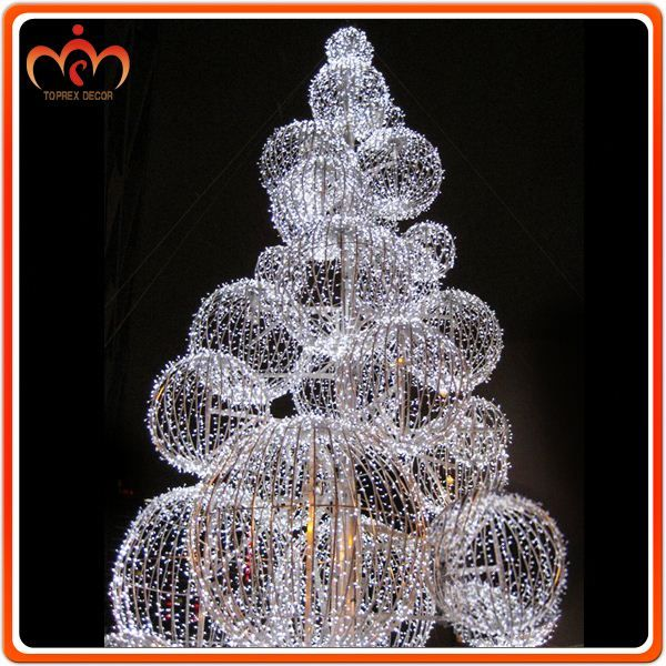 source dismountable ball tree outdoor christmas decorations clearance on malibabacom