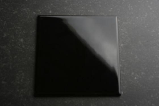 Wandtegels 15×15 zwart